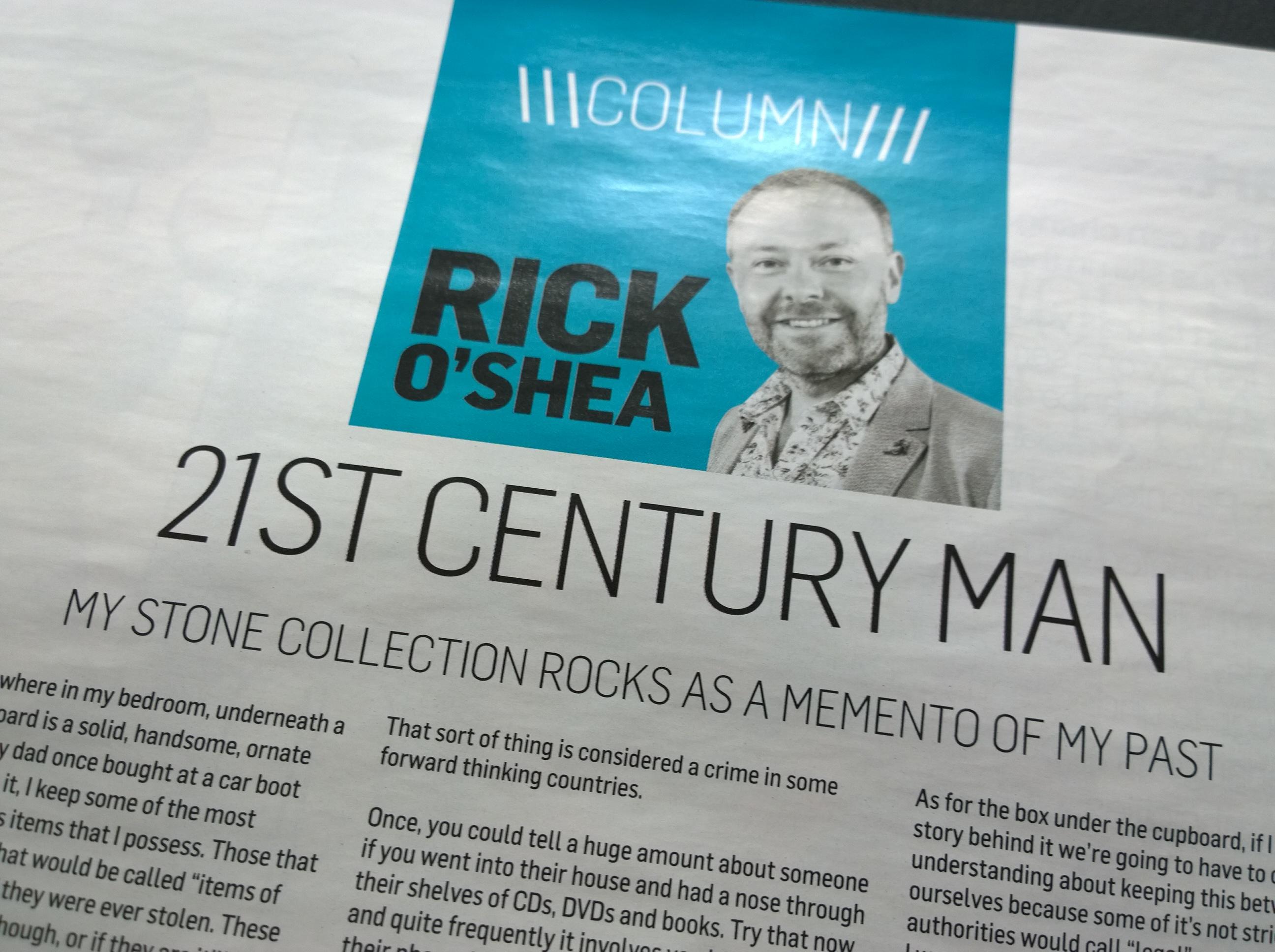 Old Insider Magazine Columns